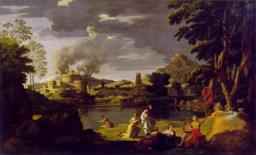 Paesaggio con Orfeo ed Euridice