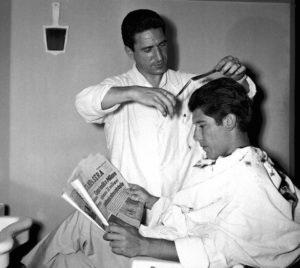barbiere a Torino 1957