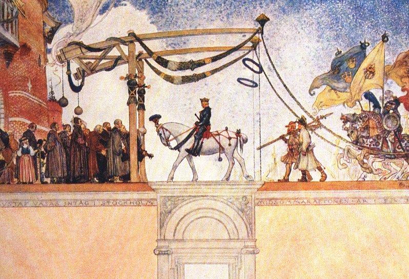 Gustavo Vasa entra a Stoccolma