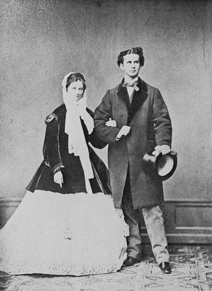 fidanzamento di Ludwig II e Sofia di Baviera