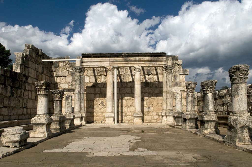 Antica sinagoga di Cafarnao
