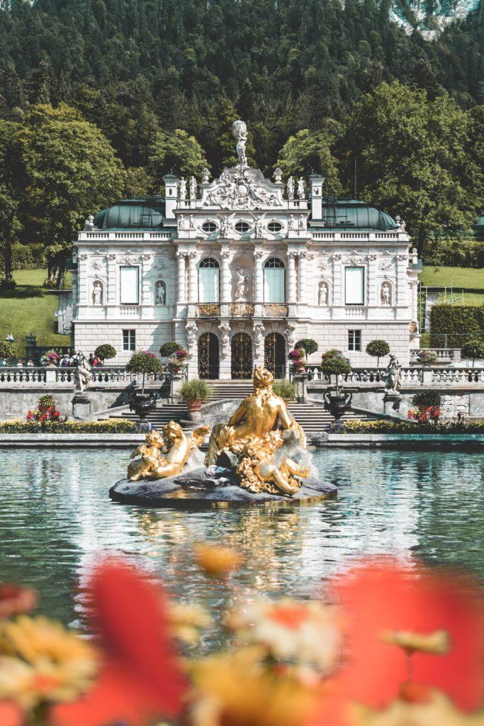 Schloss Linderhof a Ettal, Baviera