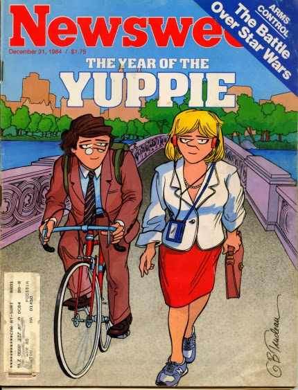Newsweek dicembre 1984: The Year of the Yuppie