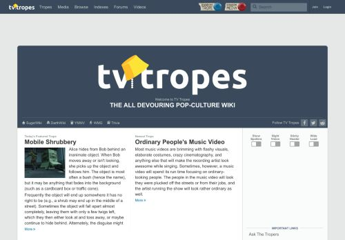 TV Tropes