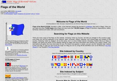 Flags of The World (FOTW)