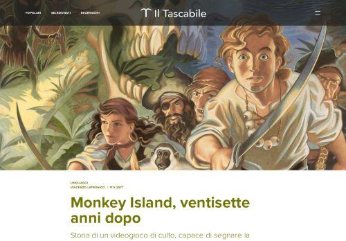 Monkey Island, ventisette anni dopo - Il Tascabile