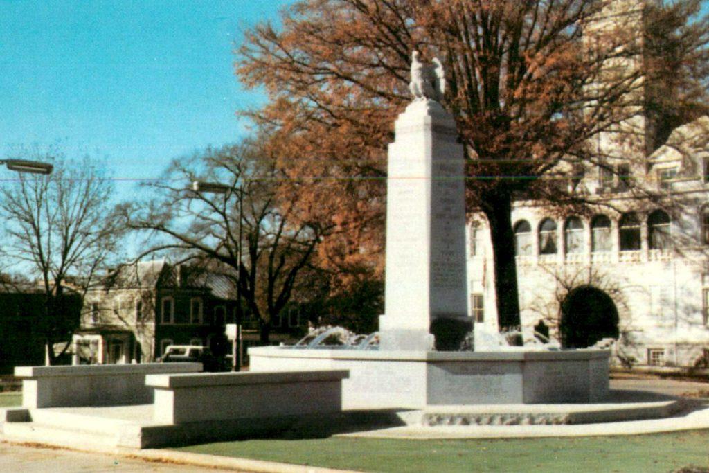 fontana del bicentenaro ad Elberton
