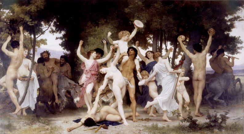La giovinezza di Bacco, William Adolphe Bougereau (1884)