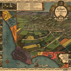 Los Angeles as it appeared in 1871